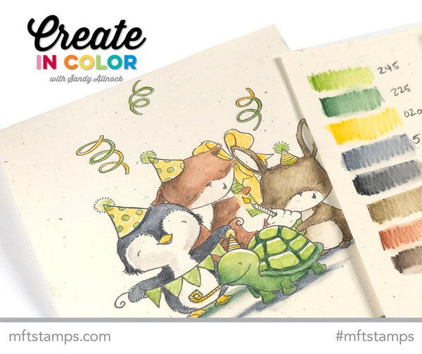 13% Off to Celebrate Our 13th Birthday — EXTENDED to July 13! Plus New Create in Color with Sandy Allnock