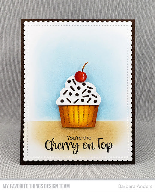Time to Bake up a Sweet Paper Treat with a Cherry on Top!