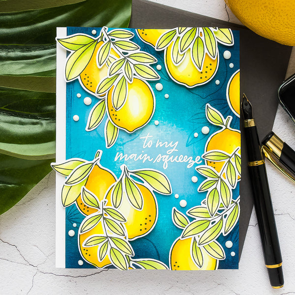 Celebrate Your Main Squeeze with This Bright & Fresh Design from Yana