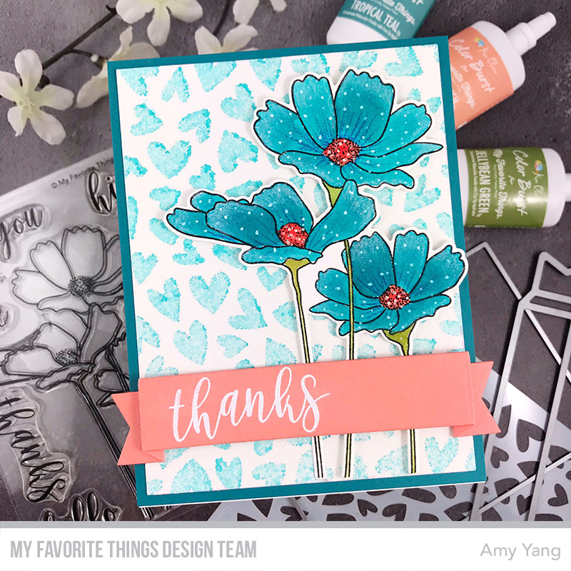 Handmade card from Amy Yang featuring products from My Favorite Things #mftstamps
