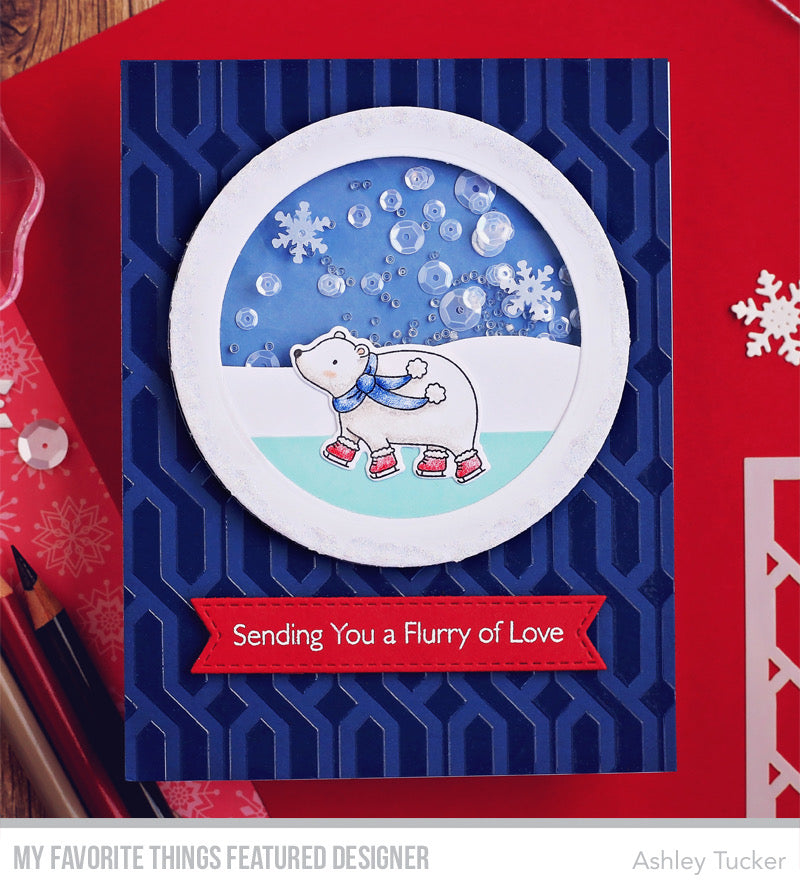 Handmade card from Ashley Tucker featuring products from My Favorite Things #mftstamps