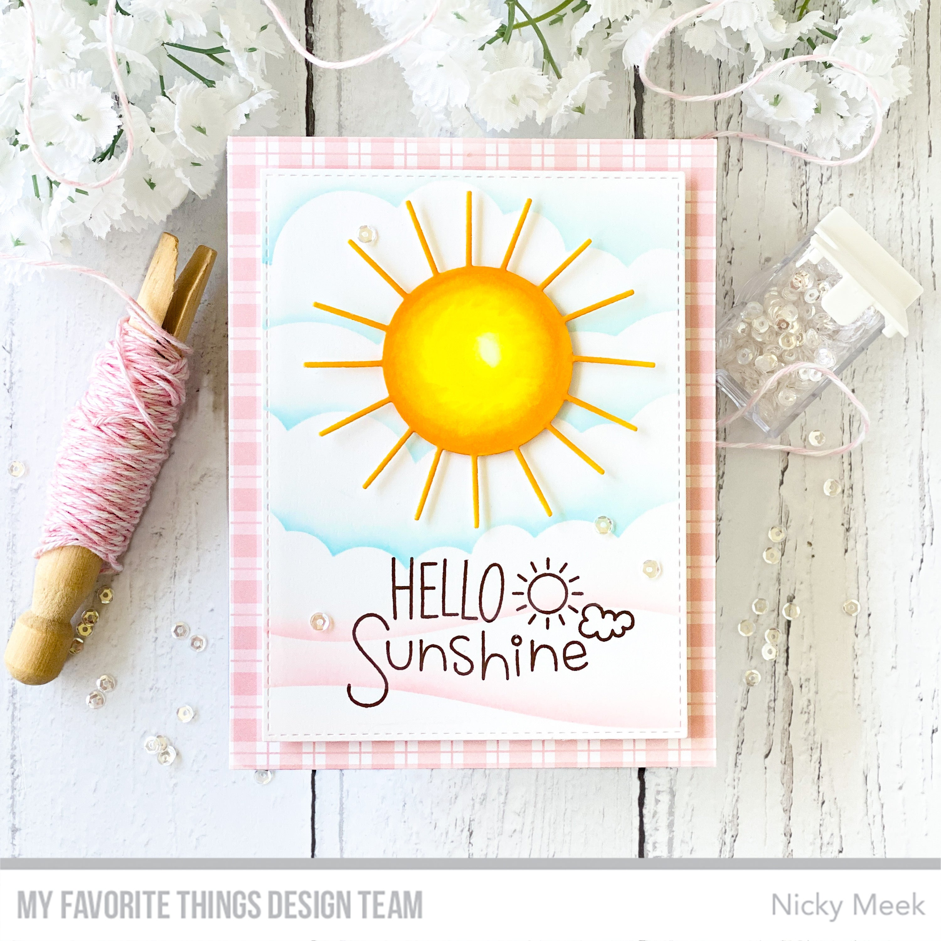 Handmade cards from Nicky Meek featuring products from My Favorite Things #mftstamps