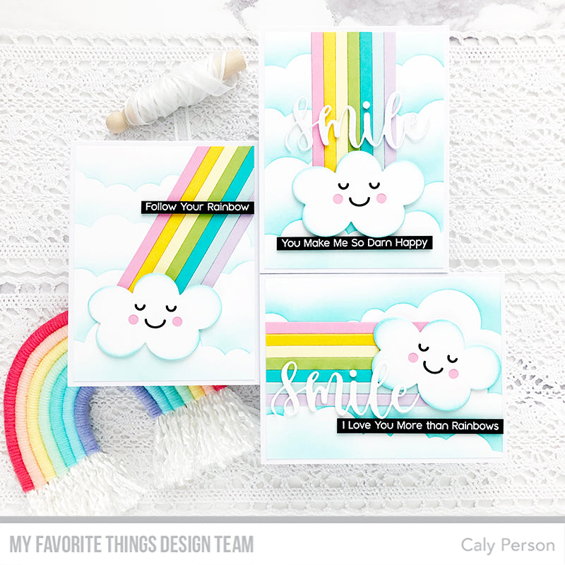 Handmade cards from Caly Person featuring products from My Favorite Things #mftstamps