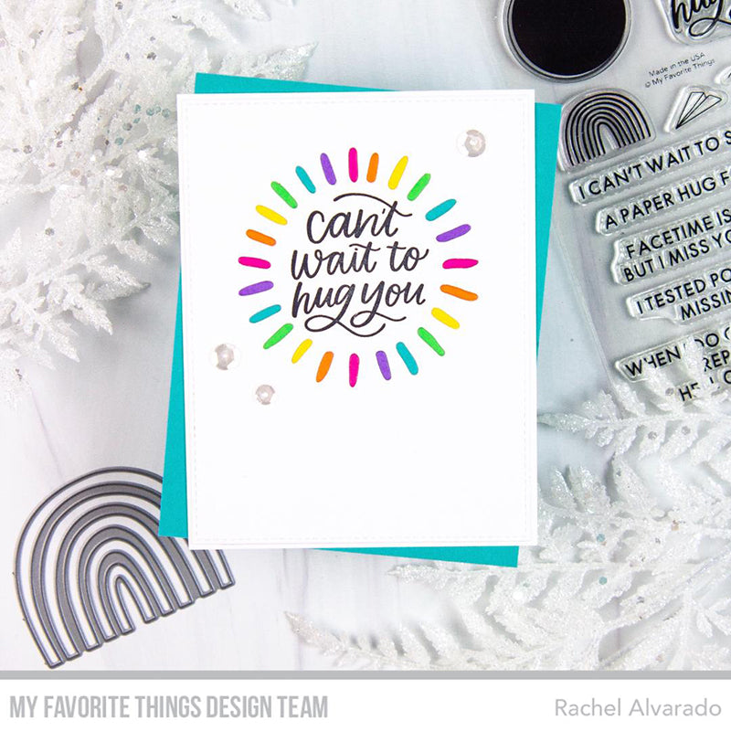 Handmade card from Rachel Alvarado featuring products from My Favorite Things #mftstamps