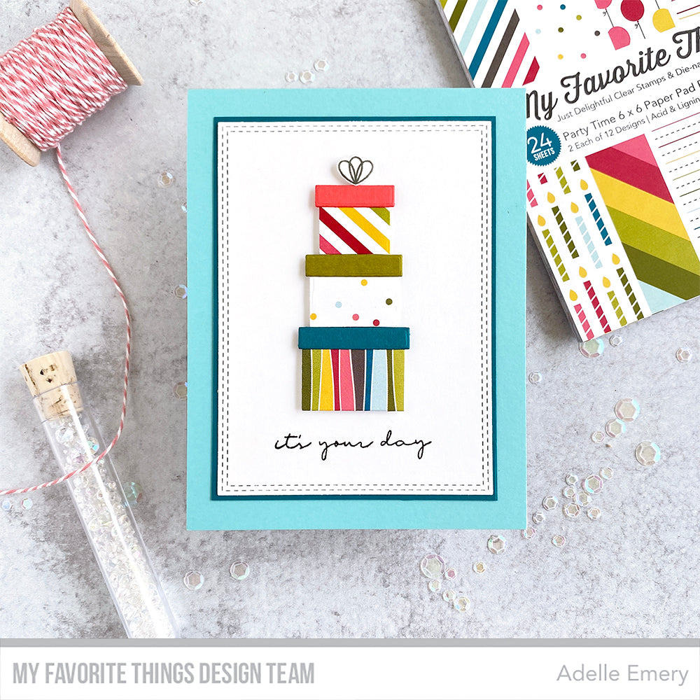 Handmade card from Adelle Emery featuring products from My Favorite Things #mftstamps
