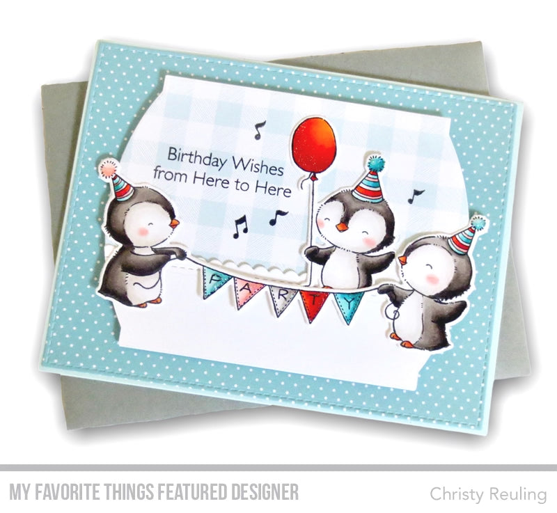Handmade card from Christy Reuling featuring products from My Favorite Things #mftstamps