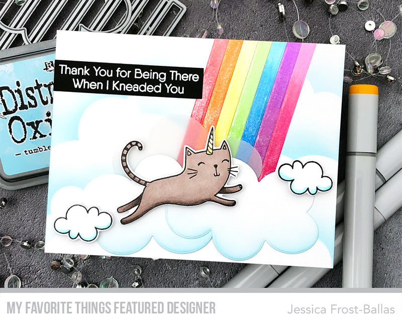 Handmade card from Jessica Frost-Ballas featuring products from My Favorite Things #mftstamps
