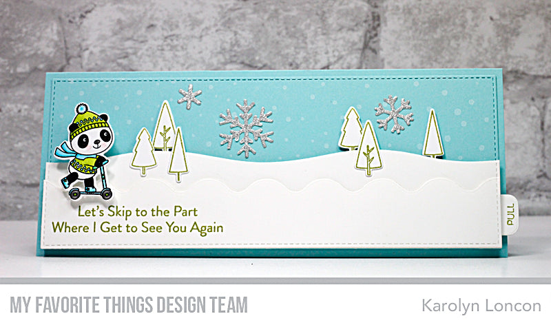 Handmade card from Karolyn Loncon featuring products from My Favorite Things #mftstamps