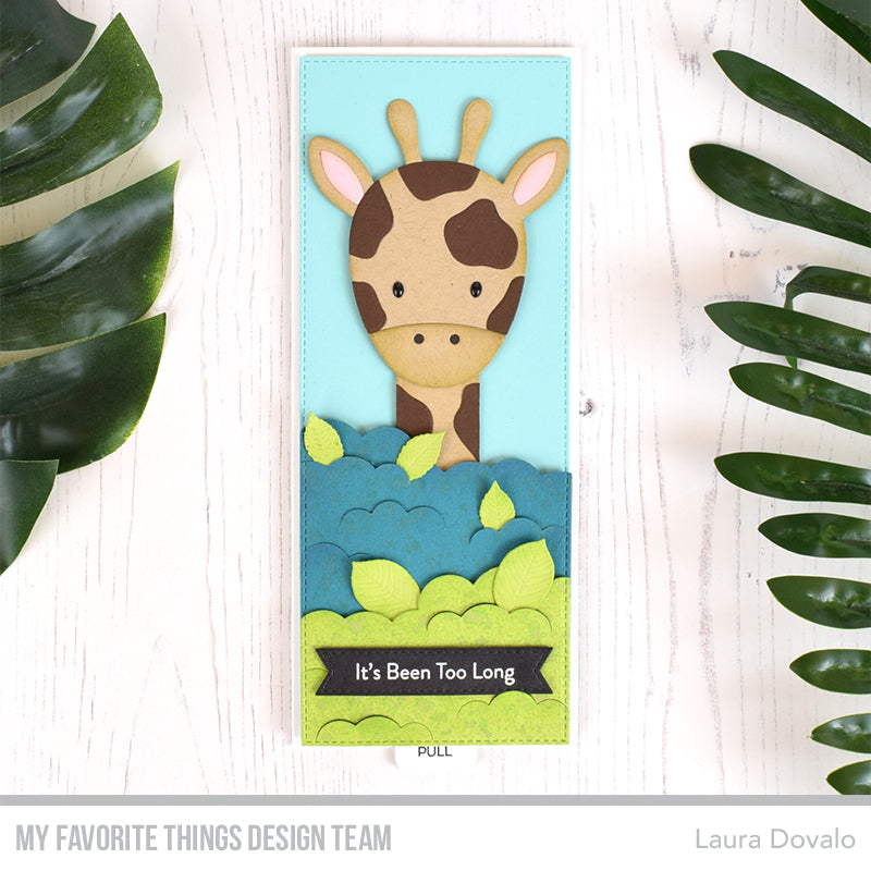 Handmade card from Laura Dovalo featuring products from My Favorite Things #mftstamps