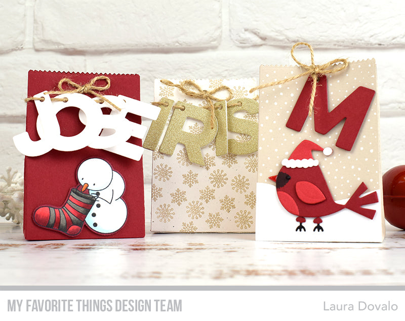 Handmade packaging from Laura Dovalo featuring products from My Favorite Things #mftstamps