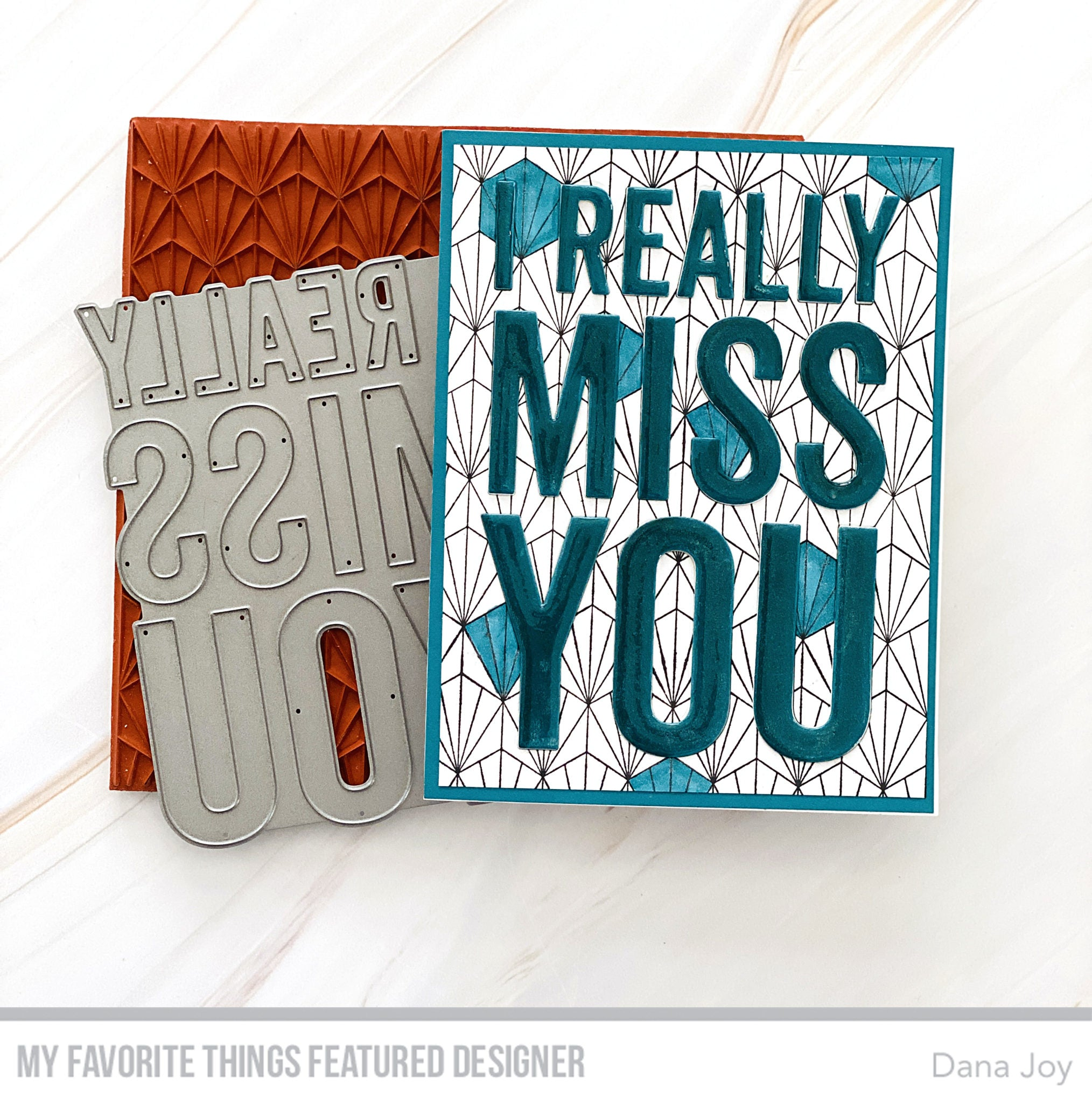 Handmade card from Dana Joy featuring products from My Favorite Things #mftstamps