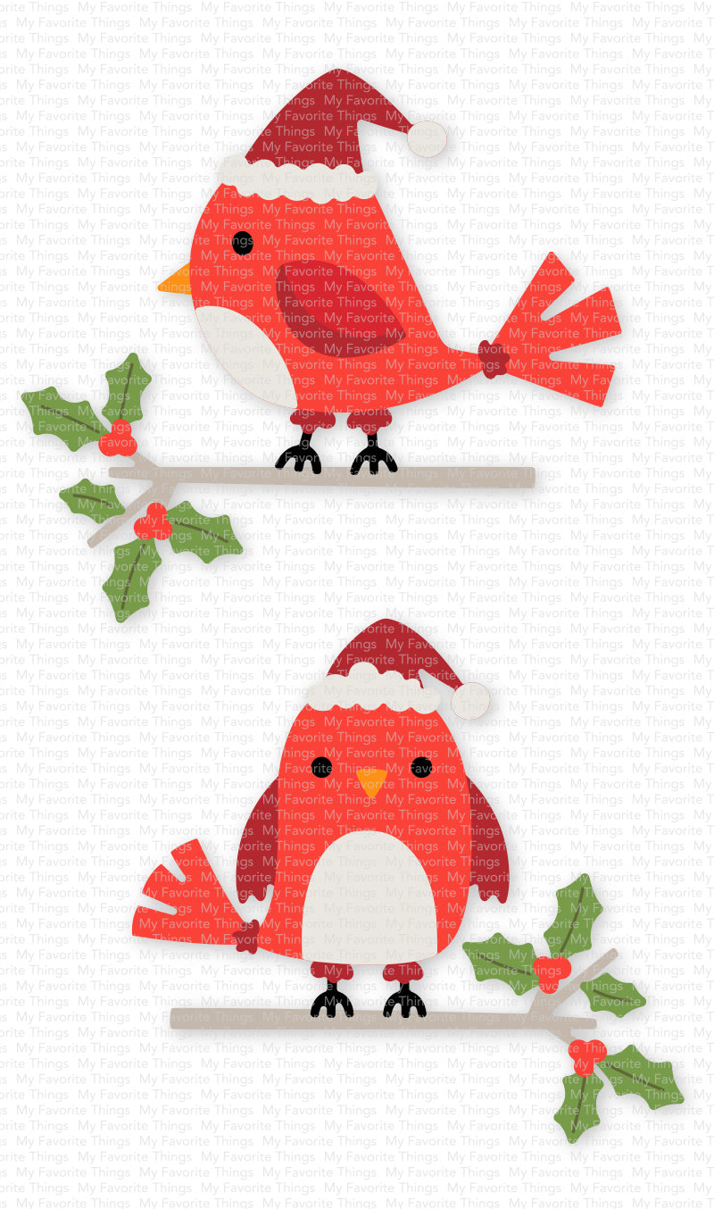 Pep Up Packaging with Personalized Tags and Eye-Catching Crimson Cardi – MFT  Stamps