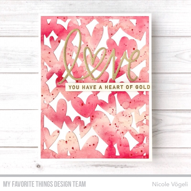 Handmade card from Nicole Vogeli featuring products from My Favorite Things #mftstamps