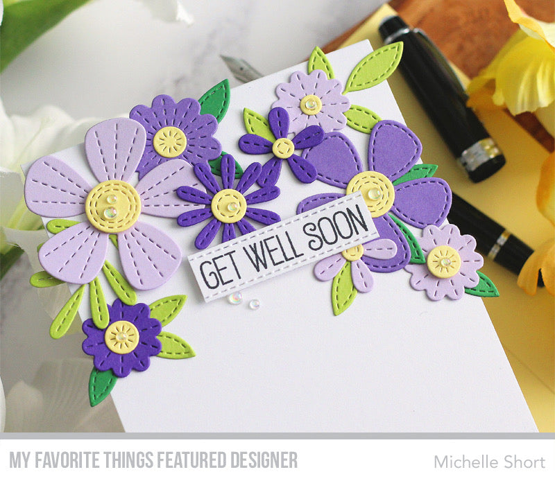 Handmade card from Michelle Short featuring products from My Favorite Things #mftstamps