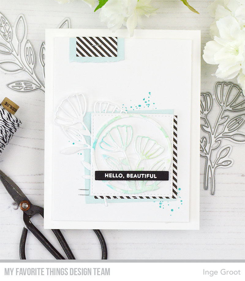 Handmade card from Inge Groot featuring products from My Favorite Things #mftstamps