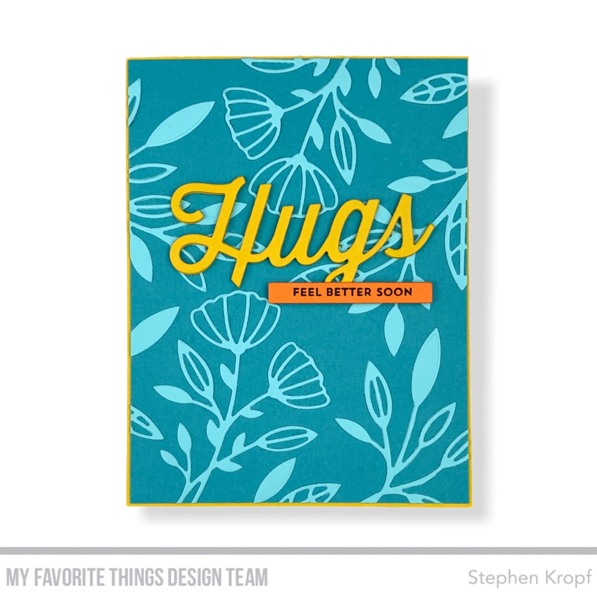 Handmade card from Stephen Kropf featuring products from My Favorite Thing #mftstamps