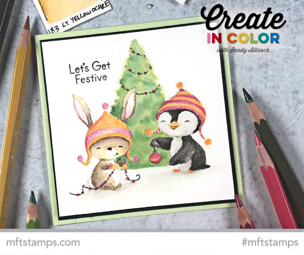 Handmade card from Sandy Allnock featuring products from My Favorite Things #mftstamps