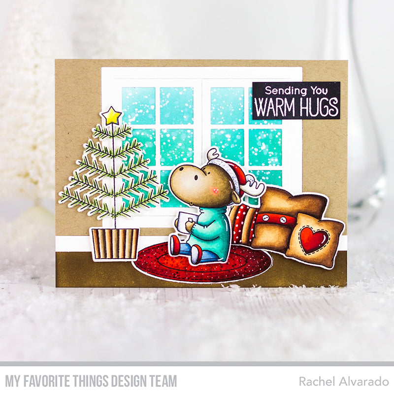 Handmade tags from Rachel Alvarado featuring products from My Favorite Things #mftstamps