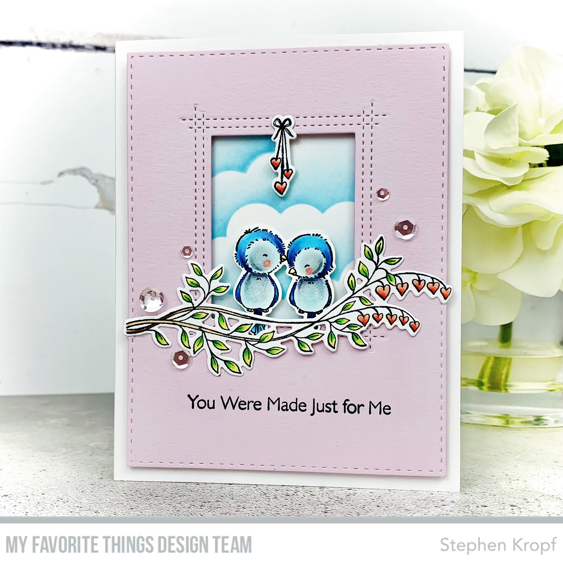 Handmade card from Stephen Kropf featuring products from My Favorite Things #mftstamps