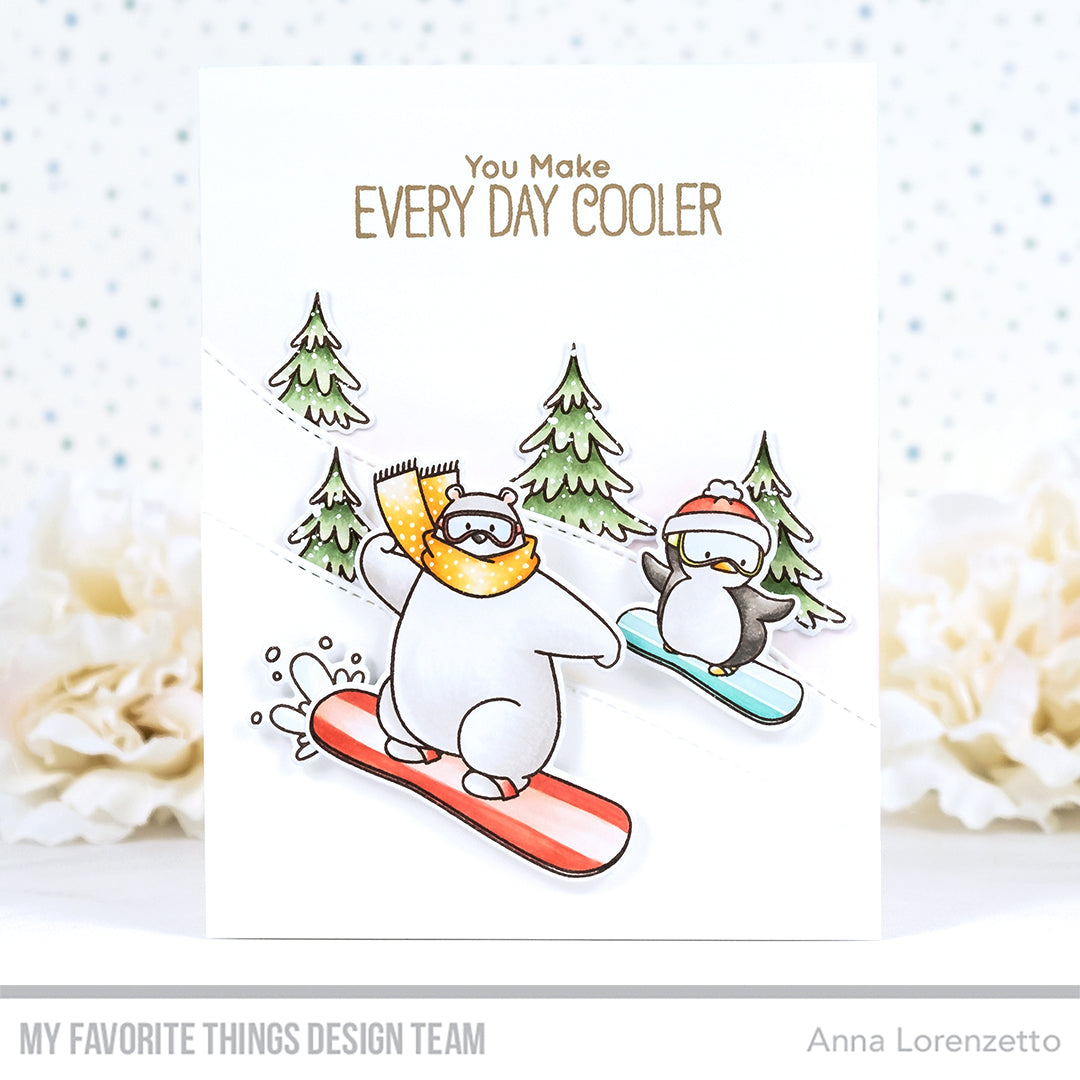 Handmade card from Anna Lorenzetto featuring products from My Favorite Things #mftstamps