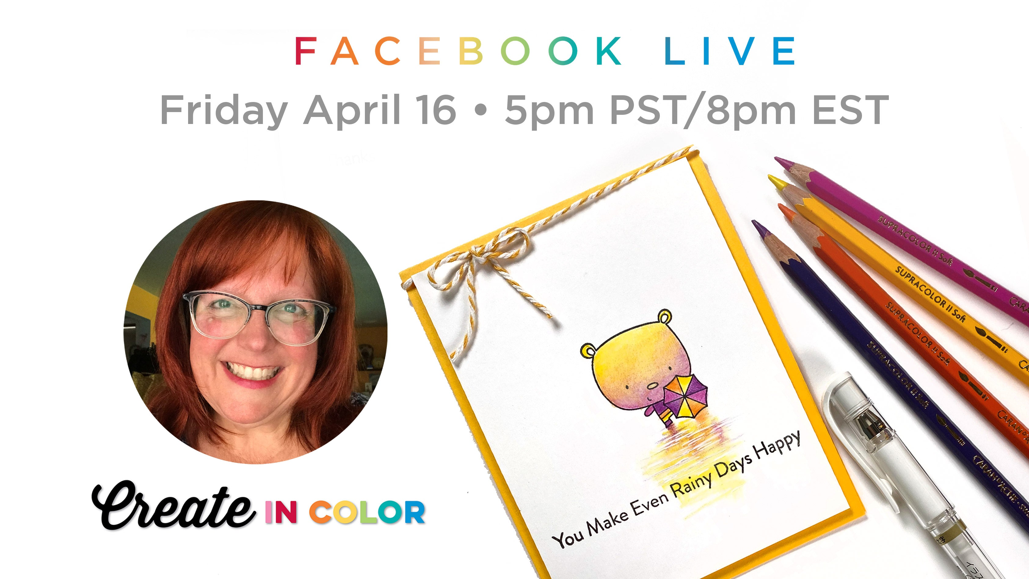 Facebook Live with Sandy Allnock featuring products from My Favorite Things #mftstamps