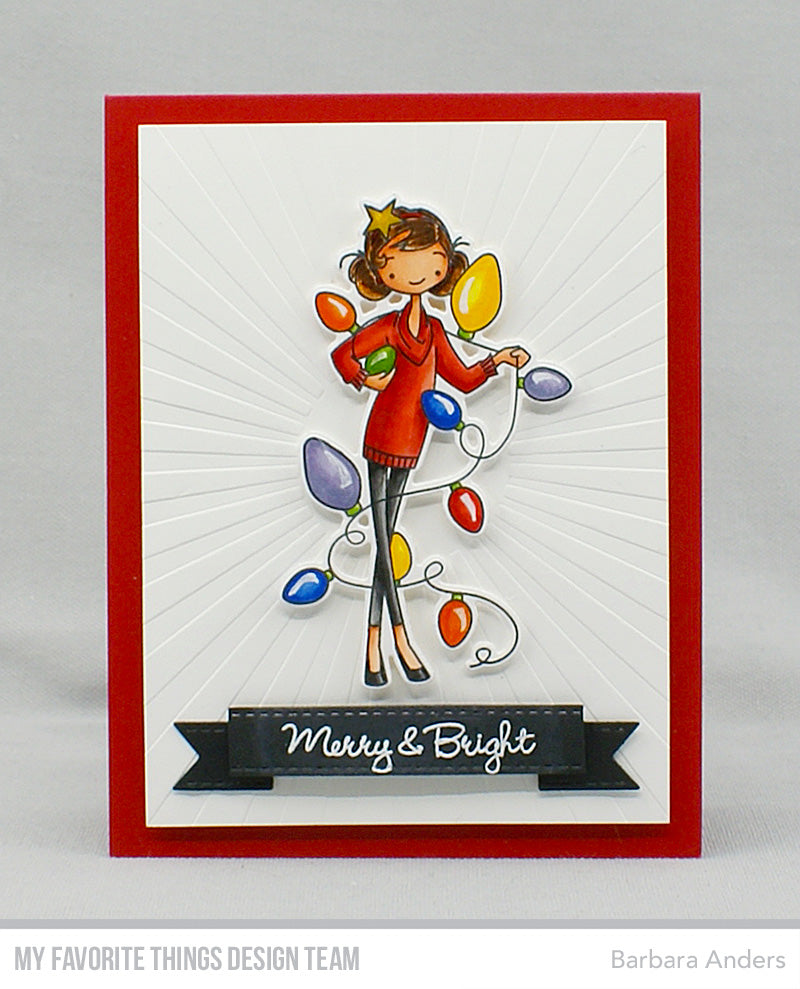 Handmade tags from Barbara Anders featuring products from My Favorite Things #mftstamps