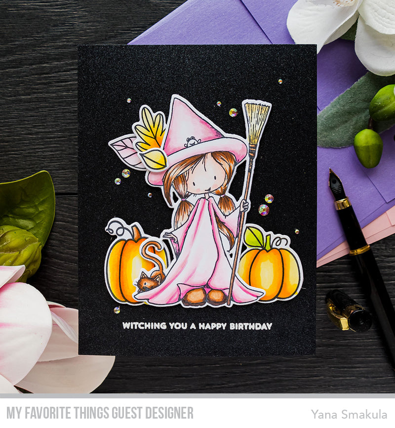 Handmade card from Yana Smakula featuring products from My Favorite Things #mftstamps