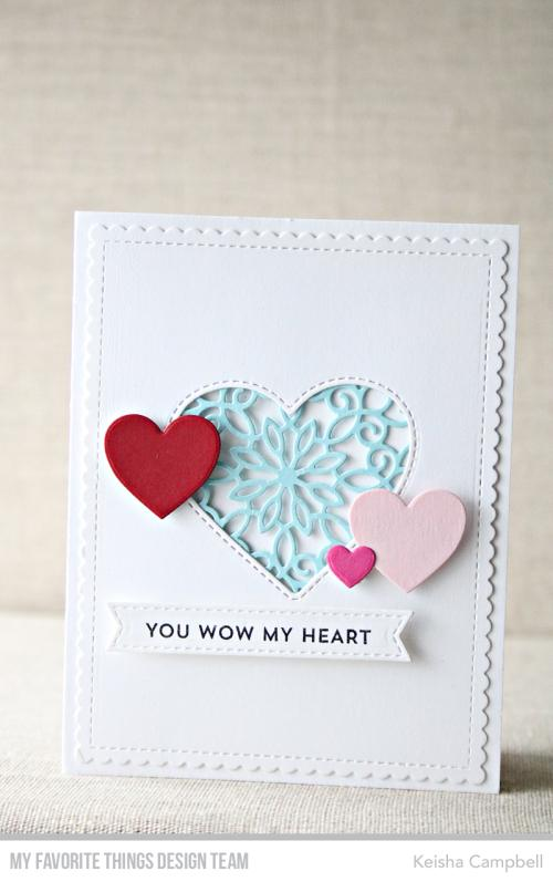 Stitched Heart Peek-a-Boo Window Die-namics