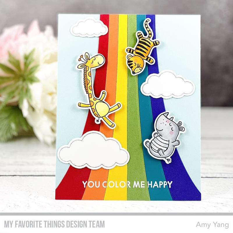 Wild About Rainbows Card Kit