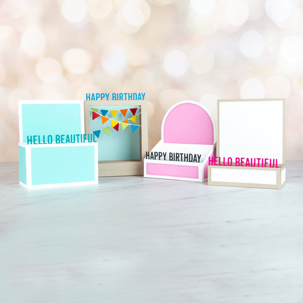 Box Card Greetings Die-namics