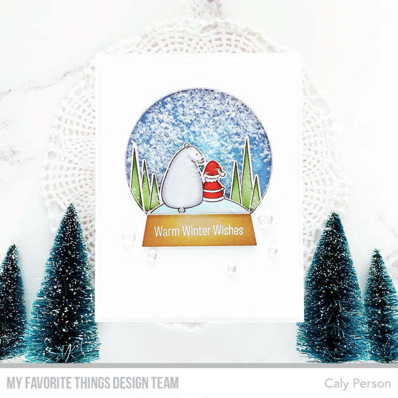 Classic Snow Globe Shaker Pouches