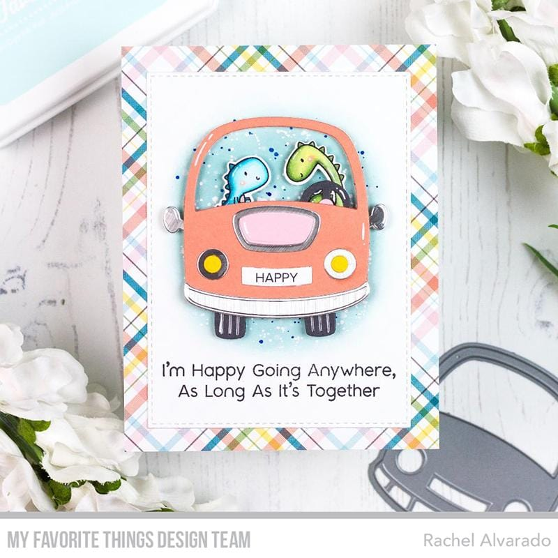 Road Trippin' Paper Pad – MFT Stamps