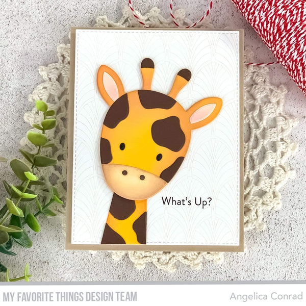 Giraffe Greetings