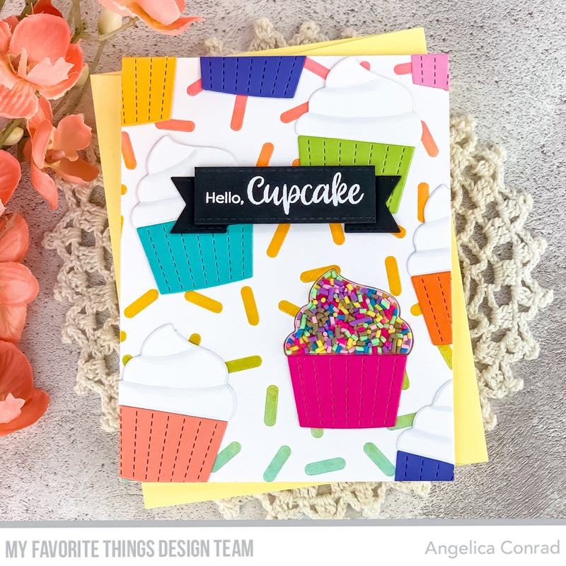 Cupcake Shaker Pouches