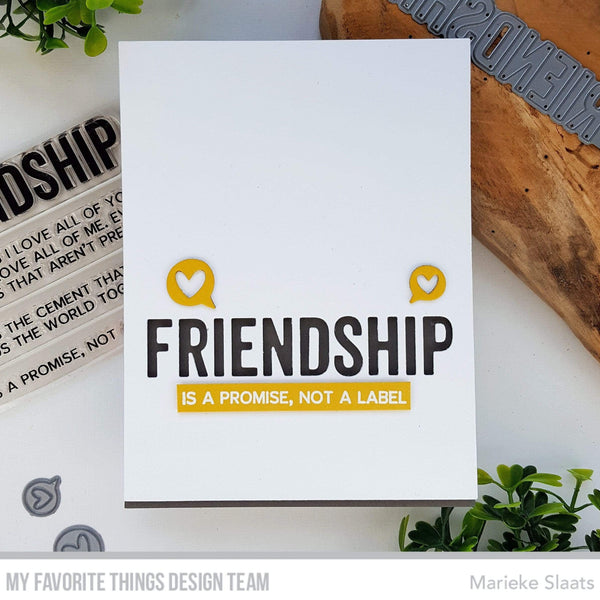 Friend & Friendship Die-namics