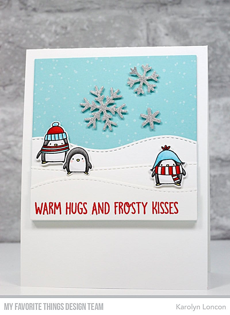 Warm Hugs and Frosty Kisses Die-namics