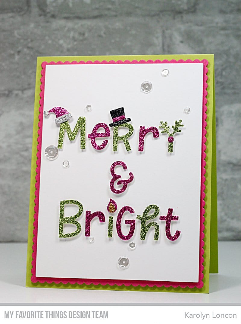 Merry and Bright with All the Trimmings Die-namics