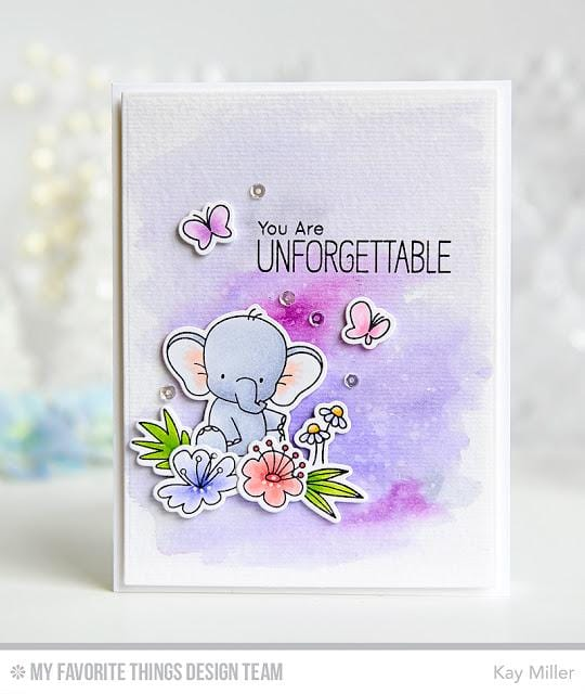 BB Adorable Elephants Die-namics