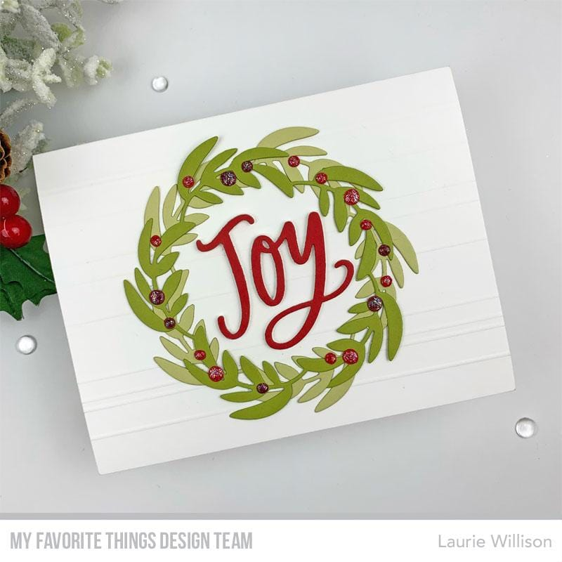 Joyful Wreath Die-namics