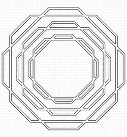 Linked Octagon Frames Die-namics