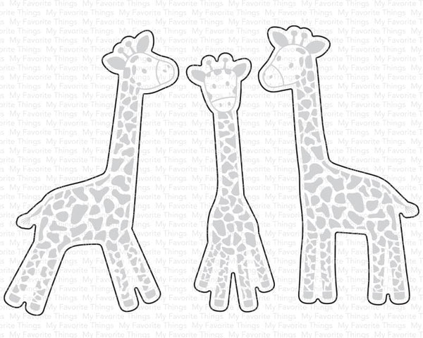 Playful Giraffes Die-namics