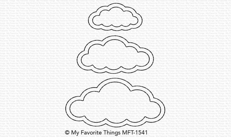 Free with $60 Cute Cloud Outlines Die-namics