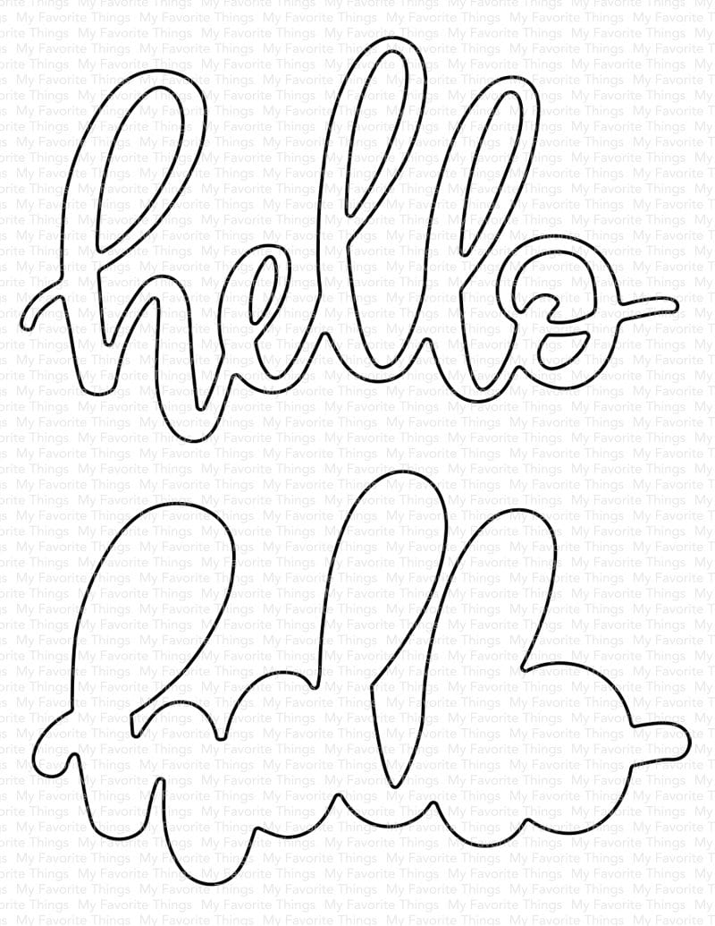 Little Hello Die-namics