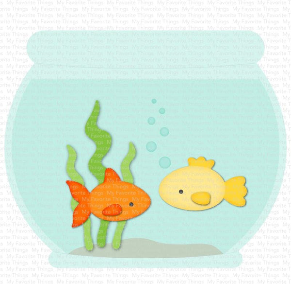 Fishbowl Die-namics – MFT Stamps