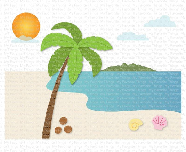 Beach Scene Builder Die-namics