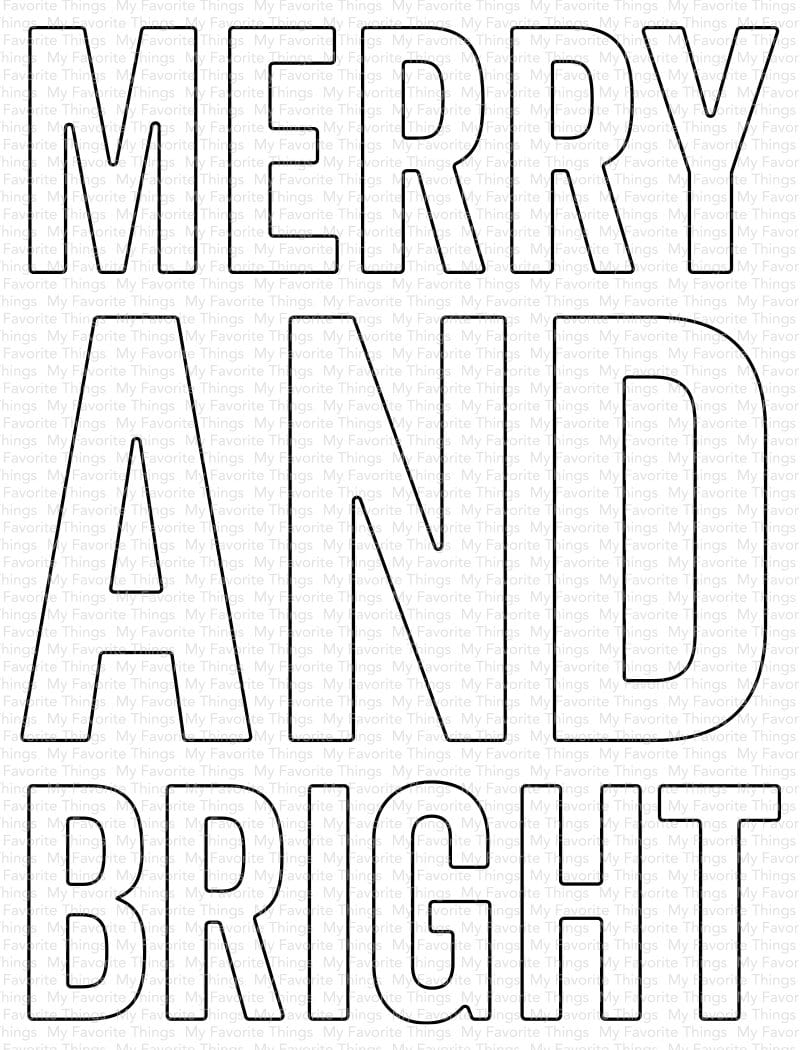 Very Merry and Bright Die-namics