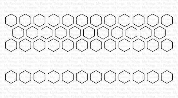 Hexagon Pops Die-namics