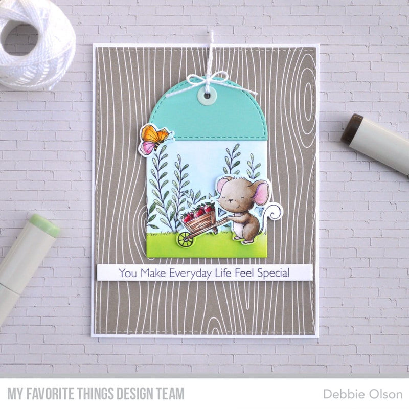Woodgrain Whimsy Paper Pad