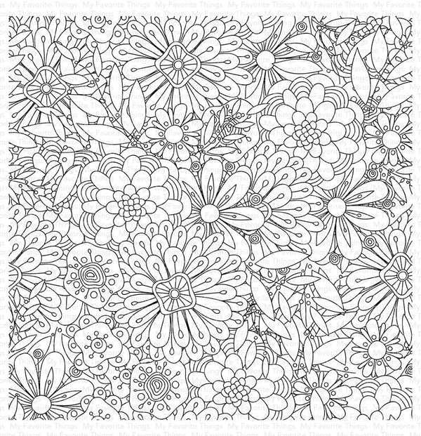 Bundles of Blossoms Background