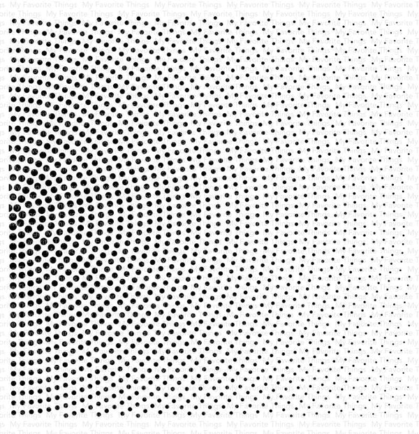 Radiating Halftone Background